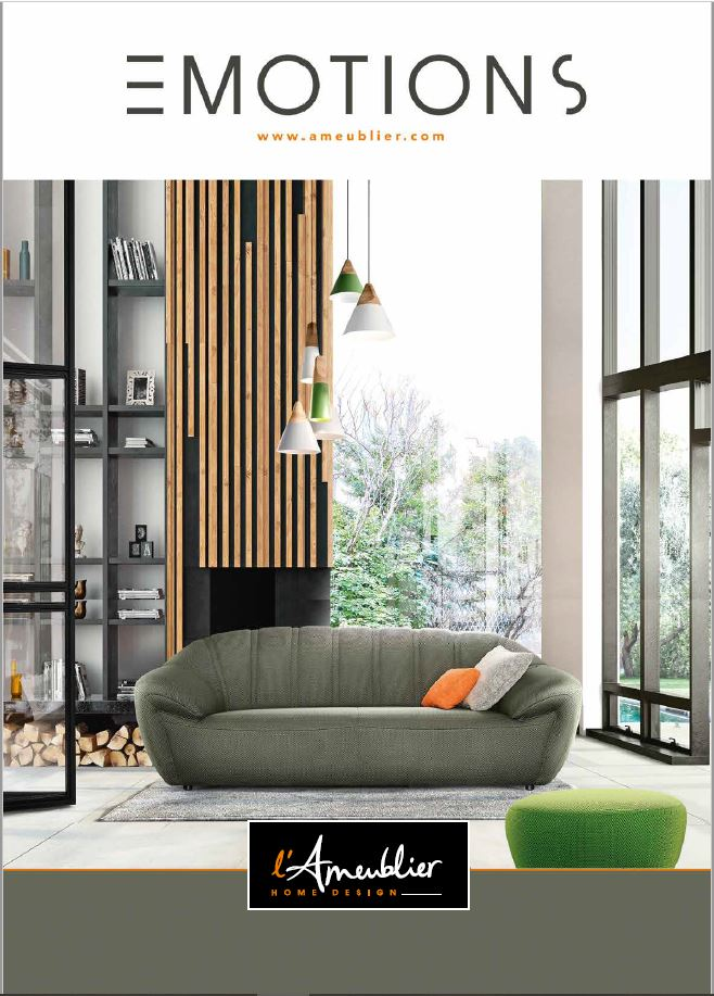EMOTIONS : le nouveau catalogue de L'Ameublier Home Design !